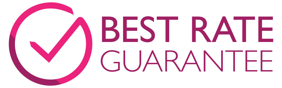 Best rate guarantee pink